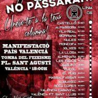 [Espanha] CGT-Castelló chama a participar na manifestação antifascista de 9 de outubro