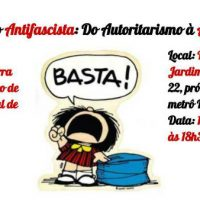 """[São Paulo-SP] Debate no CCS, dia 19/10: """"Educação Antifascista: Do autoritarismo à Anarquia"""""""