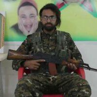 [Síria] Nosso guerreiro francês Şahin Qereçox se tornou um mártir em Deir al-Zour