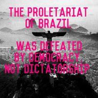 """[Chile] """"O proletariado do Brasil foi derrotado pela democracia, não pela ditadura"""""""