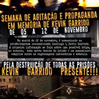 [Chile] Semana de agitação e propaganda em memória de Kevin Garrido