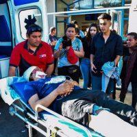 [Chile] Vídeo: Repressão policial no funeral de Kevin Garrido, em Santiago
