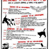 [Espanha] Encontro do Livro Anarquista de Santander, de 15 a 18 de novembro