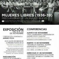 """[Espanha] Jornadas sobre a Agrupação Libertária """"Mujeres Libres"""" na cidade de Teruel"""