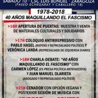 [Espanha] Zaragoza: Novembro Antifascista 2018