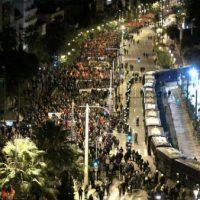 [Grécia] Milhares protestam em Atenas no 45ª aniversário da revolta estudantil de 1973