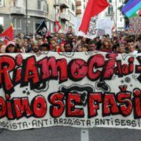[Itália] Vídeo dos protestos em Gorizia e Trieste. Contra a militarização e o fascismo!