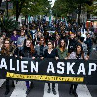 """[País Basco] """"Somos antiespecistas e lutamos pela libertação animal!"""""""