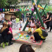 [Grécia] Estamos transformando o Parque de Navarinou em um Grande Parque Infantil