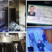 [Rússia] Em Arkhangelsk, o anarquista Misha Zhlobitsky explode a recepção do FSB