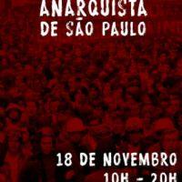 Saiu a programação da 9ª edição da Feira Anarquista de São Paulo