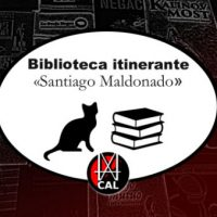 "[Uruguai] Apresentamos a Biblioteca Itinerante ""Santiago Maldonado""!"