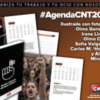 [Espanha] Organize teu trabalho e teu lazer com a agenda para 2019 da CNT