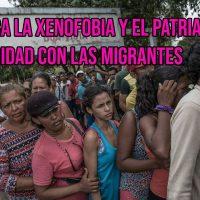 [Peru] Pronunciamento anarcofeminista contra a xenofobia e o patriarcado. Nem fronteiras, nem bandeiras!