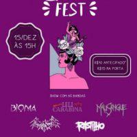 """""""Insubmissas Fest"""" acontece neste sábado (15/12), em Santos (SP)"""