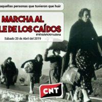 [Espanha] Manifesto pela desaparição do Vale dos Caídos - Marcha 20 de abril de 2019