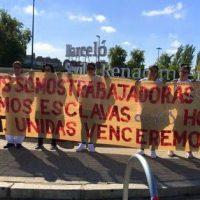 [Espanha] Sevilha: Readmitidas as oito Kellys despedidas pelo Hotel Barceló Renacimiento