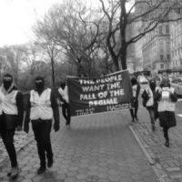 """[EUA] Manifestação em solidariedade aos """"coletes amarelos"""" em Nova Iorque"""