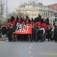 [Turquia] Em Istambul, bloco anarquista participa de protesto contra elevado custo de vida