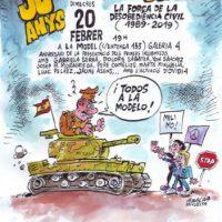 [Espanha] 30 anos de insubmissão e desobediência civil