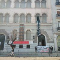 [Grécia] Em Atenas, anarquistas ocupam o Instituto Italiano de Cultura em solidariedade com o Asilo Occupato em Turim