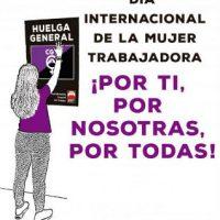 [Espanha] 8 de Março de 2019. Por você, por nós, por todas! - Greve Feminista Internacional