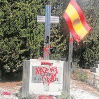 [Espanha] Vandalizado o monumento à Divisão Azul no cemitério da Almudena