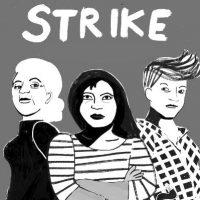 Anarquistas italianos apoiam a greve geral das mulheres