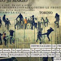[Itália] Manifestação Internacional Contra as Fronteiras