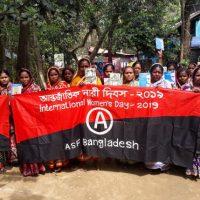 Mensagem da Federação Anarco Sindicalista de Bangladesh (BASF) no Dia Internacional da Mulher - 2019