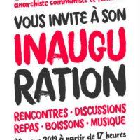 [França] Inauguração de La Grotte, espaço anarquista comunista e feminista em Poitiers