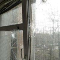 [Ucrânia] Ataque ao tribunal de Goloseyevsky em solidariedade ao anarquista Azat Miftakhov