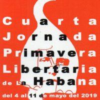 [Cuba] Último chamado: IV Jornada Primavera Libertária de Havana
