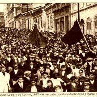 Carta convite para trabalhadoras e trabalhadores no Brasil: Curso Movimento Sindical e Movimento Social de Base.