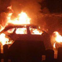 [Alemanha] Incendiado o carro pessoal de um policial de imigração fascista