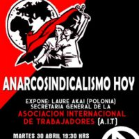 [Chile] Anarcossindicalismo Hoje