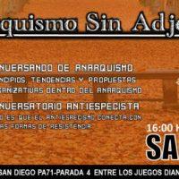 [Chile] Santiago, dia 27/04: Anarquismo Sem Adjetivos