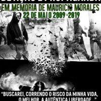 [Chile] Chamado internacional: Maio Negro em memória do anarquista Mauricio Morales