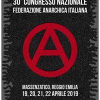 [Itália] Convocação para o XXX Congresso da Federação Anarquista Italiana