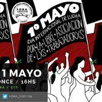 [Argentina] F.O.R.A.: 1° de Maio – Dia de Protesto Universal