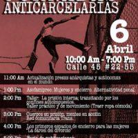 [Colômbia] Jornadas Anticarcerárias em Bogotá