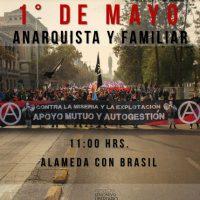 [Chile] Marcha 1º de Maio Anarquista