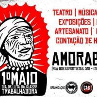 [Joinville-SC] V Sarau 1º de Maio