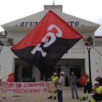 [Espanha] As trabalhadoras da cidade de Espartinas denunciam a falta de meios para realizar seu trabalho