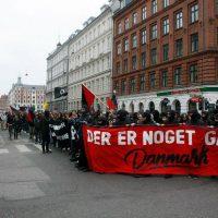 [Dinamarca] Manifestação antifascista de 1º de maio em Copenhague sofre repressão policial
