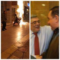 [Grécia] Ataque incendiário contra loja de penhores de um fascista do Aurora Dourada