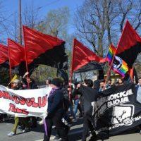 [Finlândia] Primeiro de Maio em Helsinque: Contra autoridade, fascismo e capitalismo!