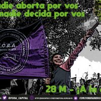 [Argentina] 28 de Maio – À rua!
