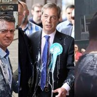 [Reino Unido] Por que manifestantes estão jogando milk-shakes em políticos britânicos