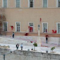 """[Grécia] Anarquista do grupo Rouvikonas pode pegar 10 anos de prisão por """"depredar"""" Parlamento Grego"""